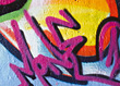 Graffiti Modern Art stock image