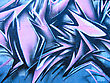 Graffiti on wall stock image