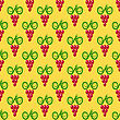 Grapes Seamless Pattern. Red Grapes Silhouettes Background stock illustration