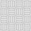 Gray Seamless Geometrical Pattern. Simple Monochrome Texture. Abstract Background.Slim Gray Checkered Rectangle Pin Will