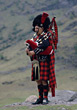 Great Britain Great Scottish Bagpipe stock photo