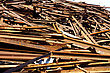 Greater Mountain Of Old Rusty Scrap Metal stock image