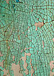 Hopelessness Green Cracked Abstract Grunge Structure stock image