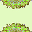 Green Lace Color Paisley Floral Colorful Ethnic Ornament Kaleidoscope