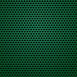 Green Perforated Metal Texture. Green Perforated Background