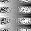 Grey Abstract Mosaic Background For Your Design stock vector