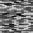 Grey Brick Background. Brick Texture. Wall Of Bricks