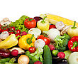 Group Of Fresh Vegetables stock photography