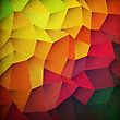 Grunge Colorful Patches Background stock image