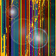 Grunge Stripes Vector Background, Abstract Art