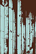 Grunge Two Colors Wooden Wall Pattern. Vector Illustration