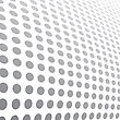 Halftone Dots Abstract Background. Vector Illustration