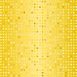 Halftone Pattern. Set Of Halftone Dots. Dots On Yellow Background. Halftone Texture. Halftone Dots. Halftone Effect