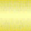 Halftone Patterns. Set Of Halftone Dots. Dots On Yellow Background. Halftone Texture. Halftone Dots. Halftone Effect