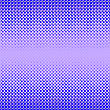 Halftone Patterns. Set Of Halftone Dots. Dots On Blue Background. Halftone Texture. Halftone Dots. Halftone Effect