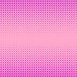 Halftone Patterns. Set Of Halftone Dots. Dots On Pink Background. Halftone Texture. Halftone Dots. Halftone Effect