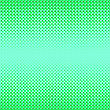 Halftone Patterns. Set Of Halftone Dots. Dots On Green Background. Halftone Texture. Halftone Dots. Halftone Effect