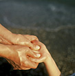 Wellness Hand Massage stock image