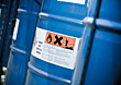 Hazardous Materials In Drums stock photo