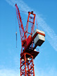 Heavy Construction Crane stock photography