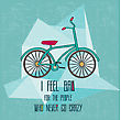 Hipster Bicycle Illustration In Vector Format