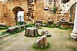 Historic Bellapais Abbey In Kyrenia, Northern Cyprus, Was Built Between 1198-1205, It Is The Most Beautiful Gothic Building In The Near East. stock image