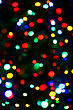 Holiday Background From Color Unfocused Lights stock image