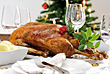 Holiday Feast stock image
