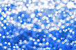 Holiday Spotted Blue Background stock photo