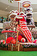 HONG KONG, CHINA - FEBRUARY 21: New Year Dragon Toys In The Shopping Mall On February, 21, 2013, Hong Kong, China. Chinese New Year Is A Main Holiday In HK, And Dragon Is A Symbol Of This Holiday stock photo