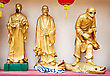 HONG KONG, CHINA - MARCH 19: Statues At Ten Thousand Buddhas Monastery In Hong Kong On March, 19, 2013, Hong Kong, China. Its One Of The Most Popular Tourist Destination In Hong Kong