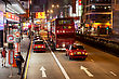 Kowloon HONG KONG - MARCH 18: Public Transport On The Street On March 18, 2013 In Hong Kong. Over 90% Daily Travelers Use Public Transport. Its The Highest Rank In The World stock photo