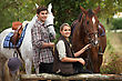 Horse Riding stock image