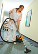 Hotel Cleaning Service stock photography