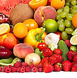 Huge Group Of Fresh Vegetables And Fruits Isolated On A White Background. Shot In A Studio stock photography