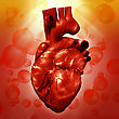 Human Heart. Abstract Medical Backgrounds For Your Design stock image