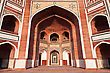 Persian Humayun's Tomb, New Delhi, India stock photo