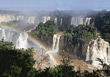 Iguacu Waterfalls, Argentina stock photography