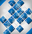 Abstract Creative Background With Squares stock vector