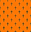 Illustration Abstract Seamless Texture With Crosses Of Graves - Vector