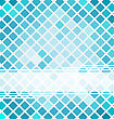 Pixelated Business Brochure With Mosaic Template stock vector