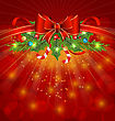 Christmas Glowing Packing, Ornamental Design Elements stock illustration