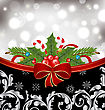 Christmas Glowingl Packing Ornamental Design Elements