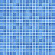 Blue Mosaic Background stock photography