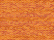 Red Brick Wall Background stock photography