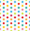 Illustration Seamless Floral Texture With Multicolored Flowers, Beautiful Pattern For Fabric - Vector