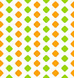 Illustration Seamless Texture With Geometric Figures - Vector
