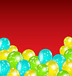 Illustration Set Colorful Balloons For Your Holiday - Vector