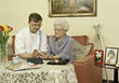 In-home Care stock image