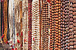 Indian Beads On The Market, South India stock image